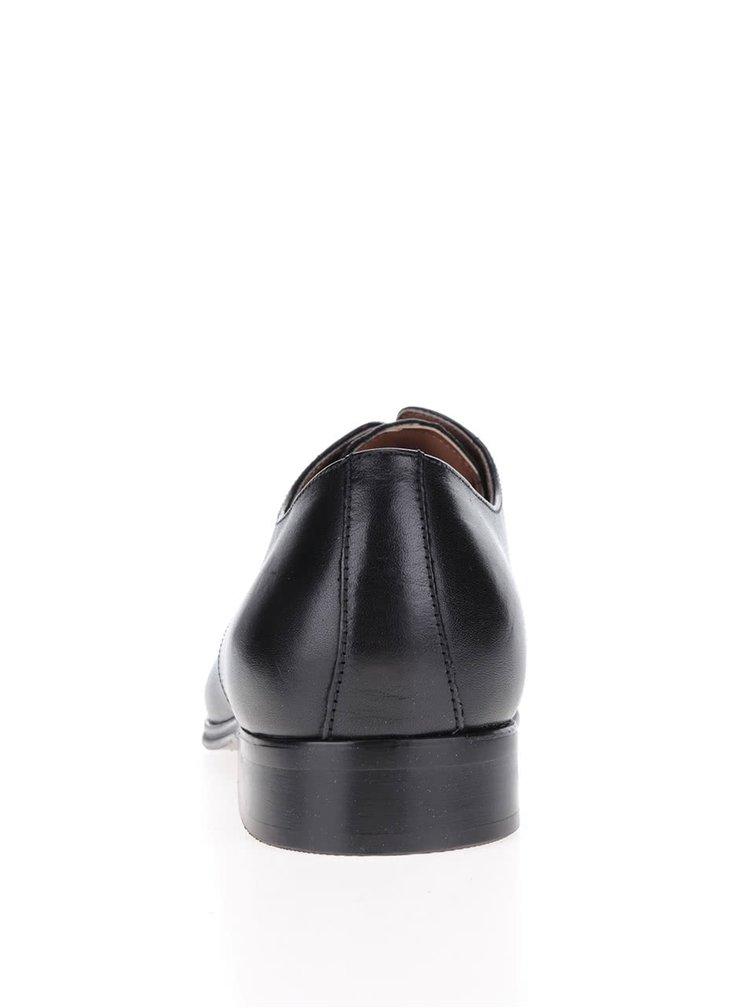 Černé pánské kožené polobotky ALDO Stansbury