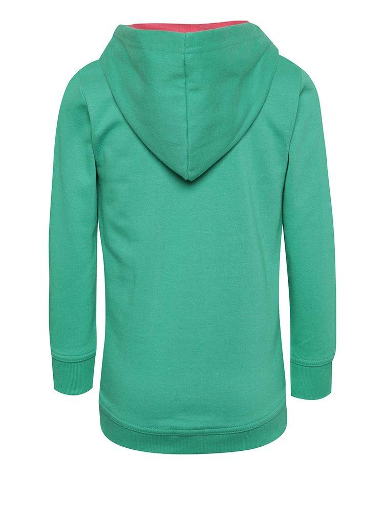 Zelená holčičí mikina Blue Seven
