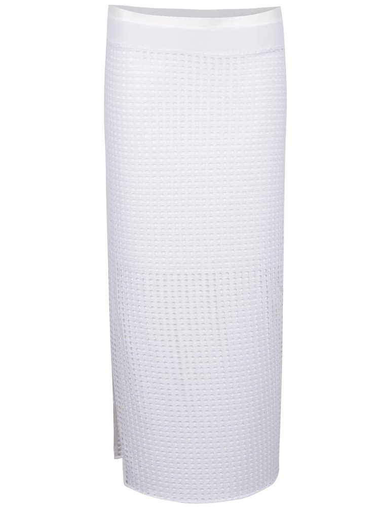 Bílá perforovaná sukně Bench