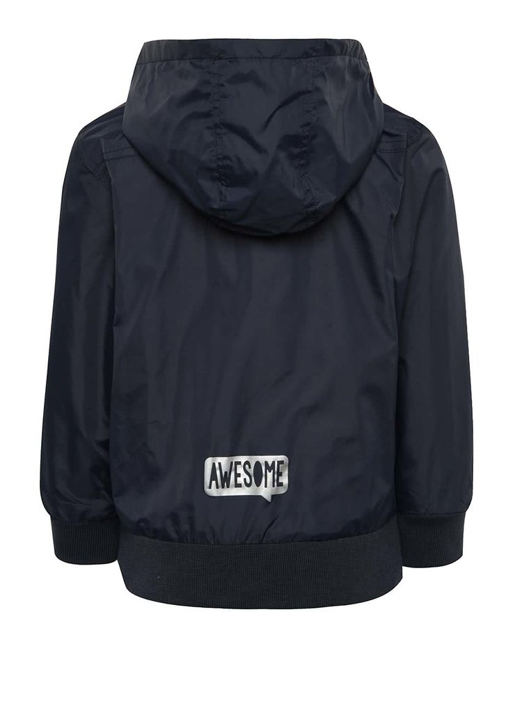 Jachetă albastru închis cu logo Blue Seven pentru băieți