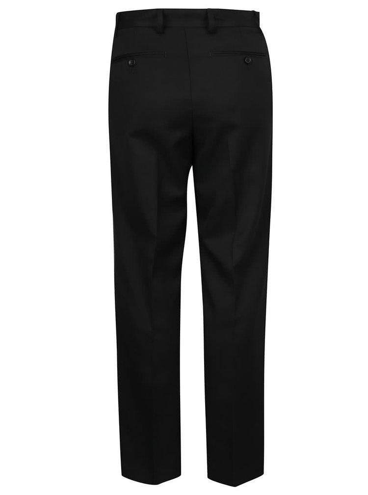Černé formální kalhoty Burton Menswear London