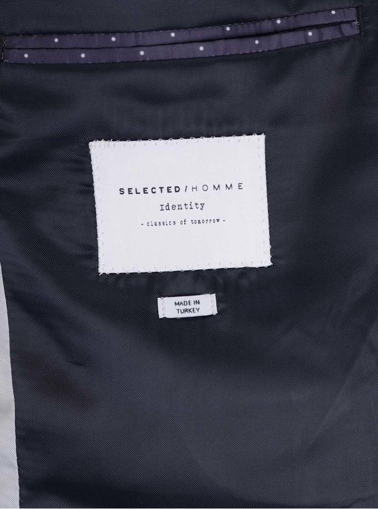 Černé sako Selected Homme Done-Summer