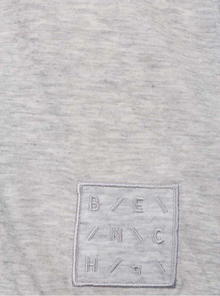 Bluză gri Bench cu șnur la spate
