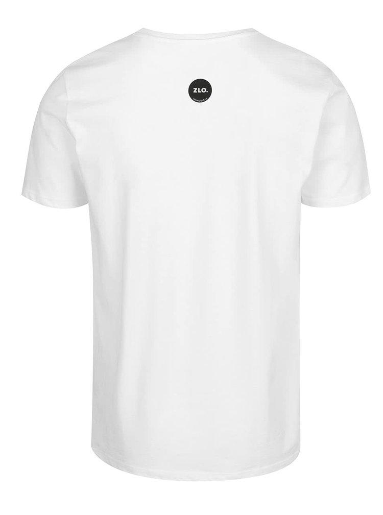 Bílé pánské tričko ZOOT Originál Netřídím odpad
