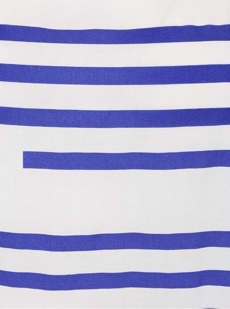 Krémové pruhované tričko Bench