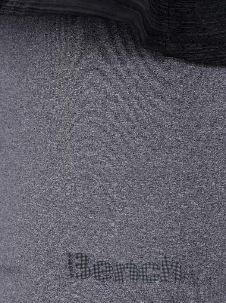 Šedo-černé dvouvrstvé tílko Bench