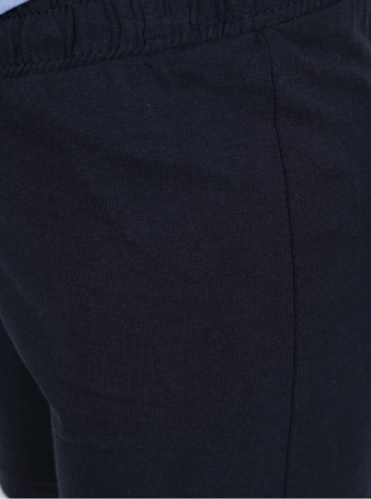 Modrý klučičí set trika a kraťasů Blue Seven