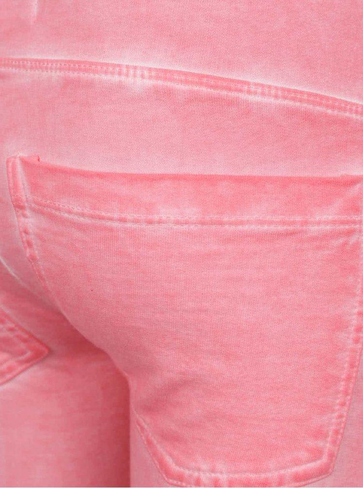 Růžové holčičí tepláky Blue Seven