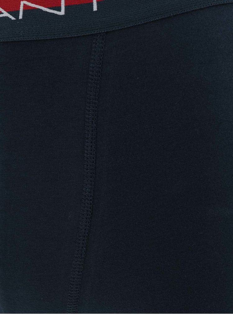 Sada dvou boxerek v tmavě modré a bílé barvě GANT