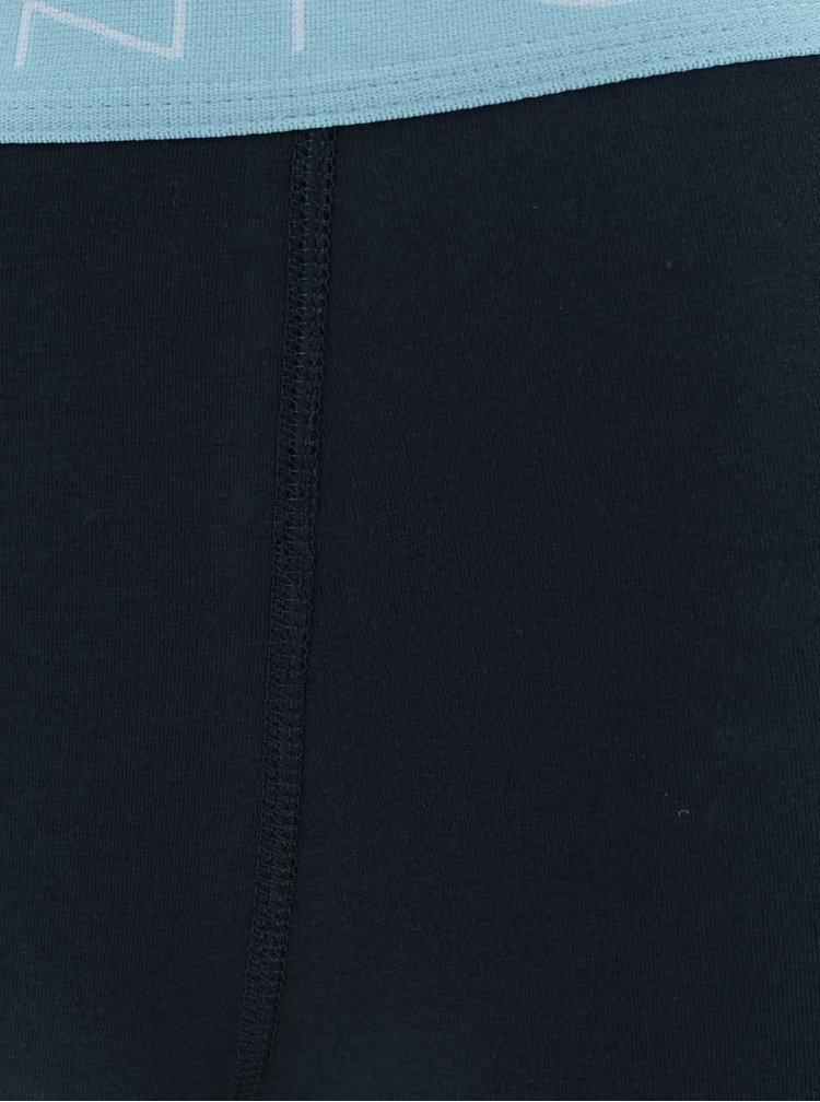 Sada tří boxerek v modré barvě GANT