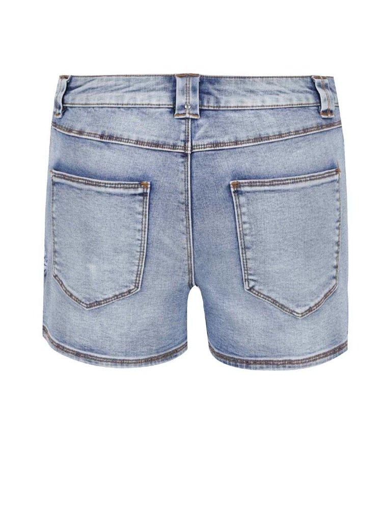 Pantaloni scurti VILA Demand din denim