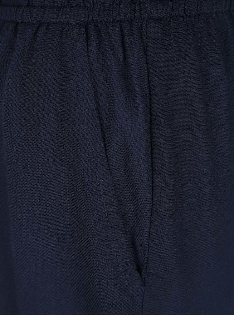 Salopeta bleumarin VILA Misa cu insertie din dantela
