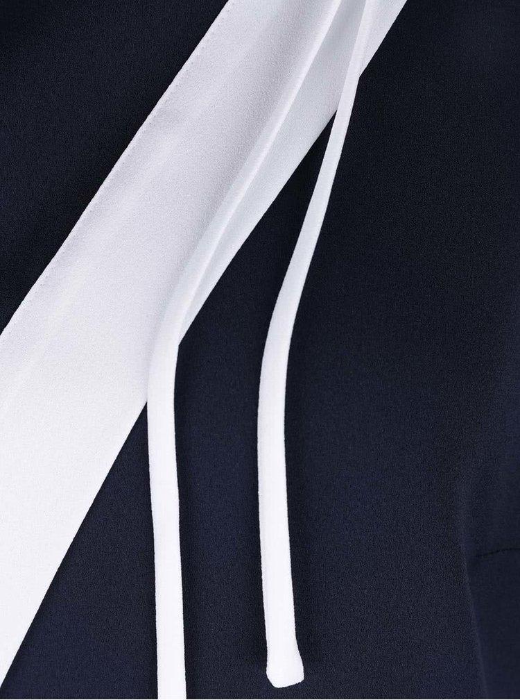Tmavě modrá halenka bez rukávů Nautica
