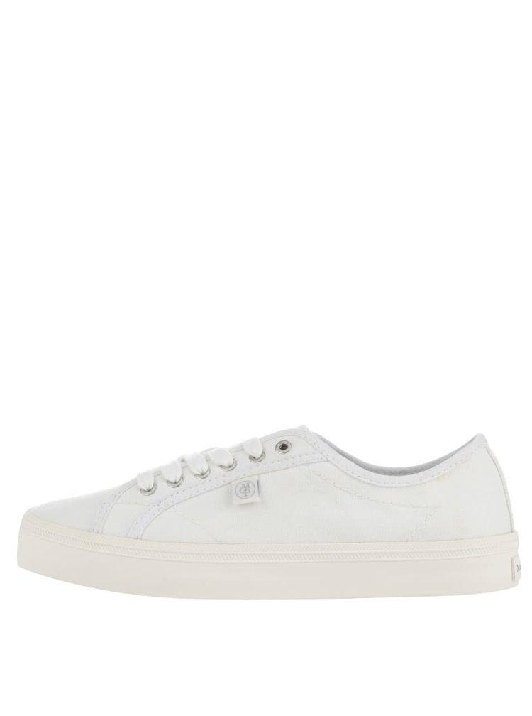 Tenisi albi Marc O´Polo Sneaker pentru femei