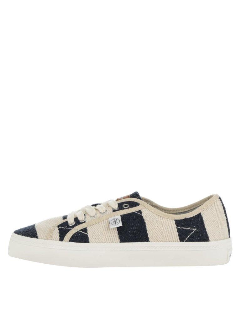 Teniși crem & albastru Marc O´Polo Sneaker pentru femei
