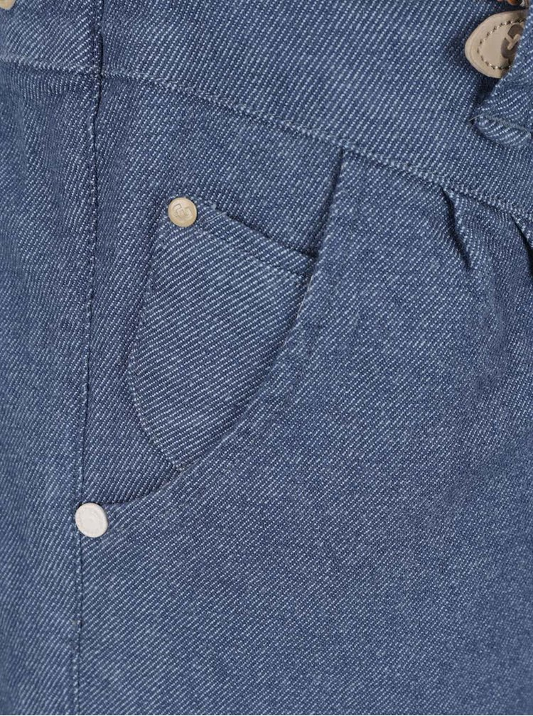 Modré dámské džínové kraťasy s páskem Ragwear Heaven