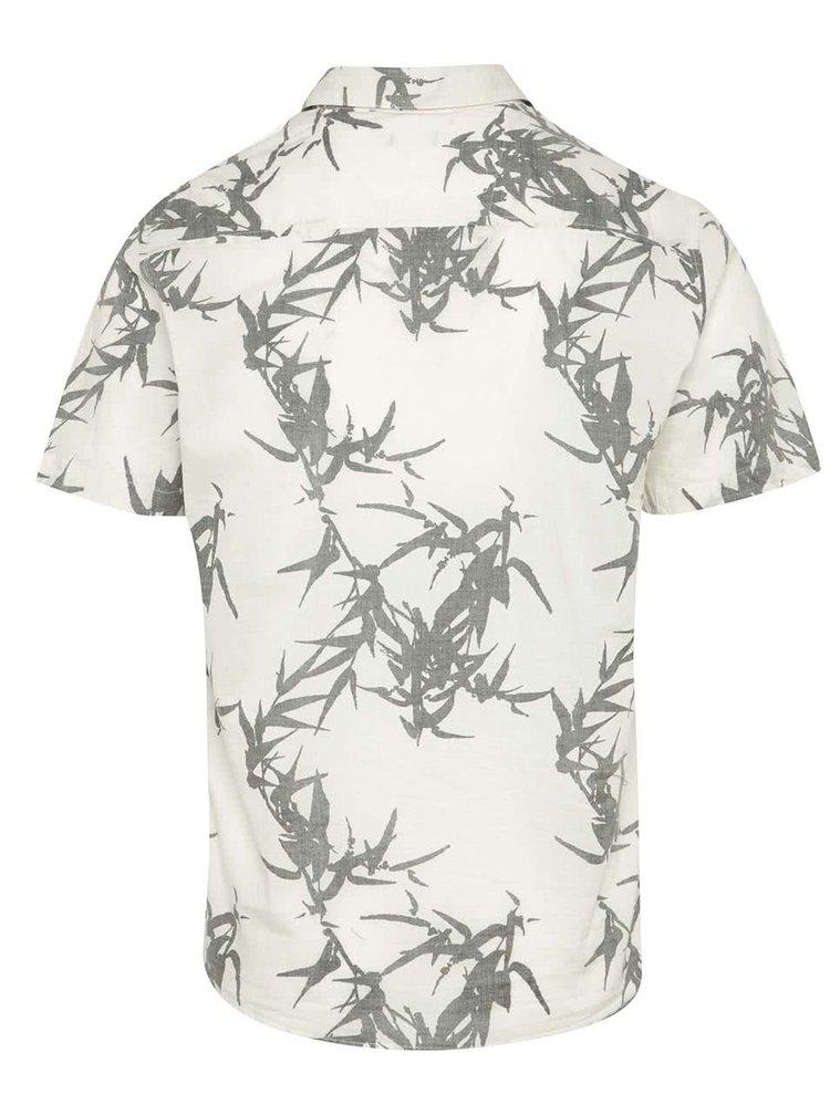 Krémová košile s potiskem ONLY & SONS Casper