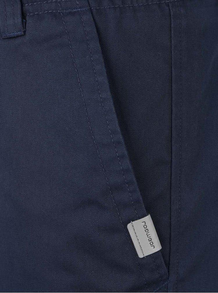 Tmavě modré pánské kraťasy Ragwear Karel