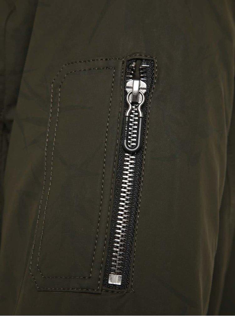 Jachetă bomber kaki ONLY & SONS Brett