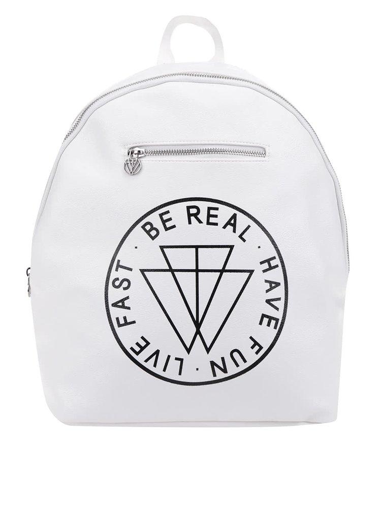 Krémový batoh s potiskem TALLY WEiJL