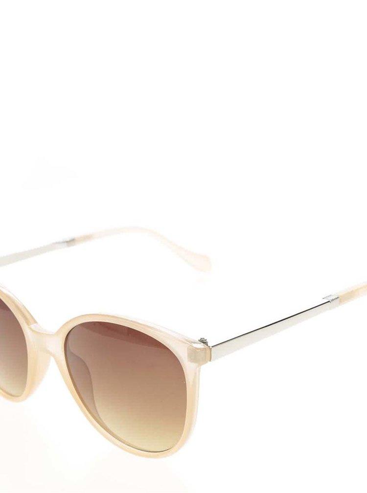 Ochelari de soare roz piersica VERO MODA Love