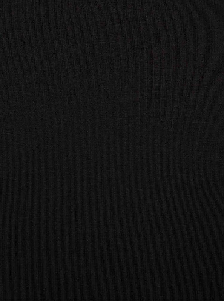 Tricou basic negru - ONLY & SONS Basic