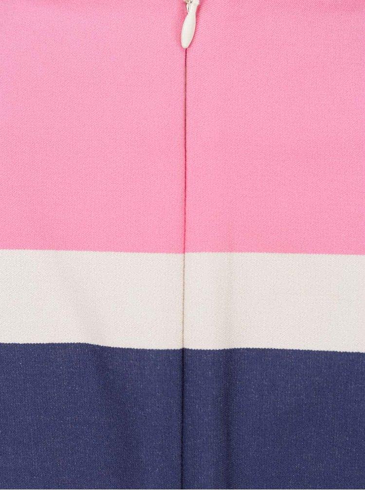 Růžové pruhované šaty GANT