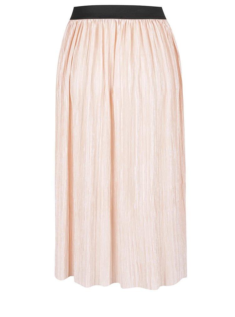 Růžová plisovaná sukně TALLY WEiJL
