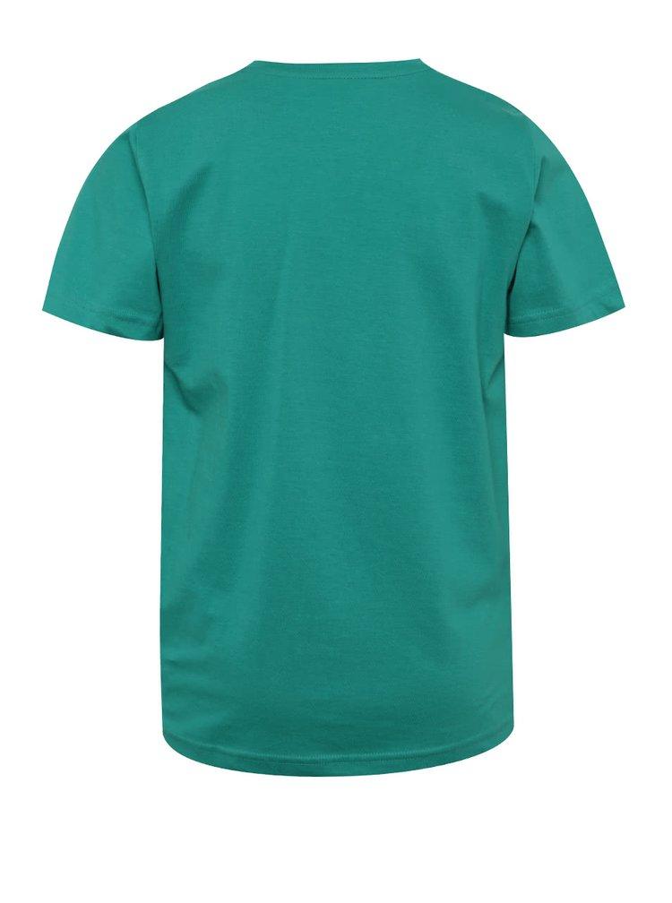 Zelené klučičí triko s potiskem 5.10.15.