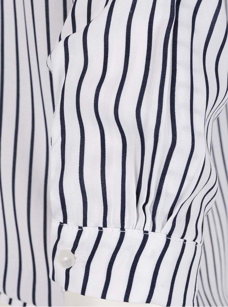 Camasa alb&albastru Haily´s Alexandra cu model in dungi