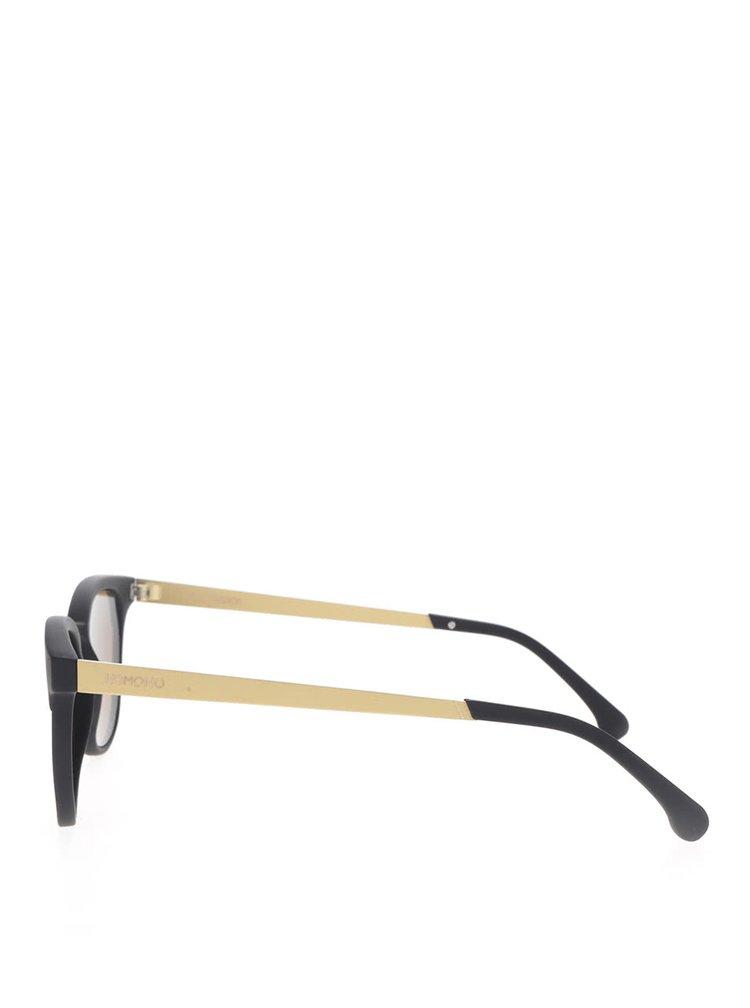 Černé dámské sluneční brýle Komono Francis