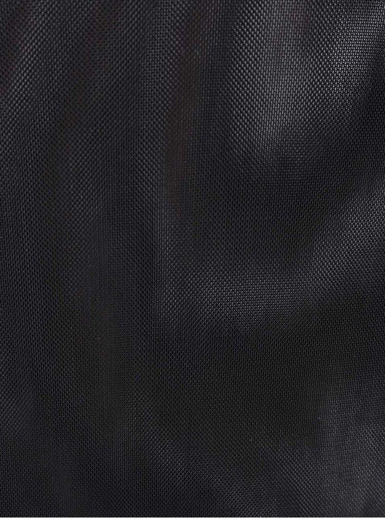 Body negru TALLY WEiJL din plasă translucentă
