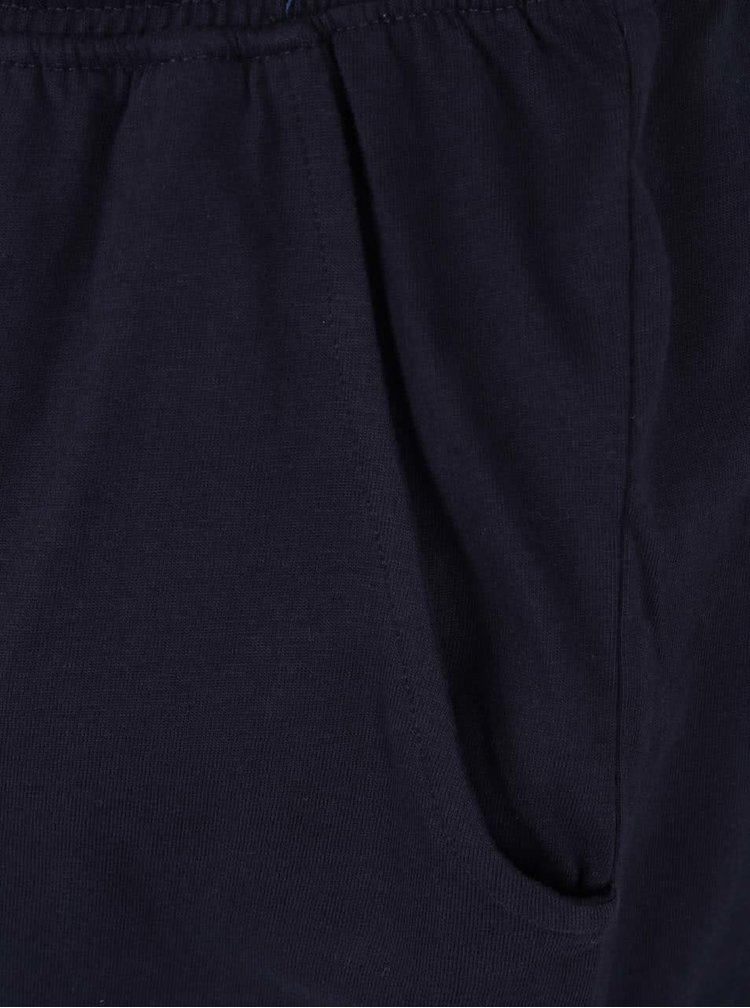 Tmavě modré pánské pyžamo s potiskem JP 1880