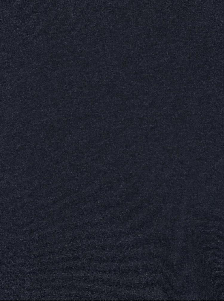 Bluza albastru inchis Jack & Jones Alex cu croi drept