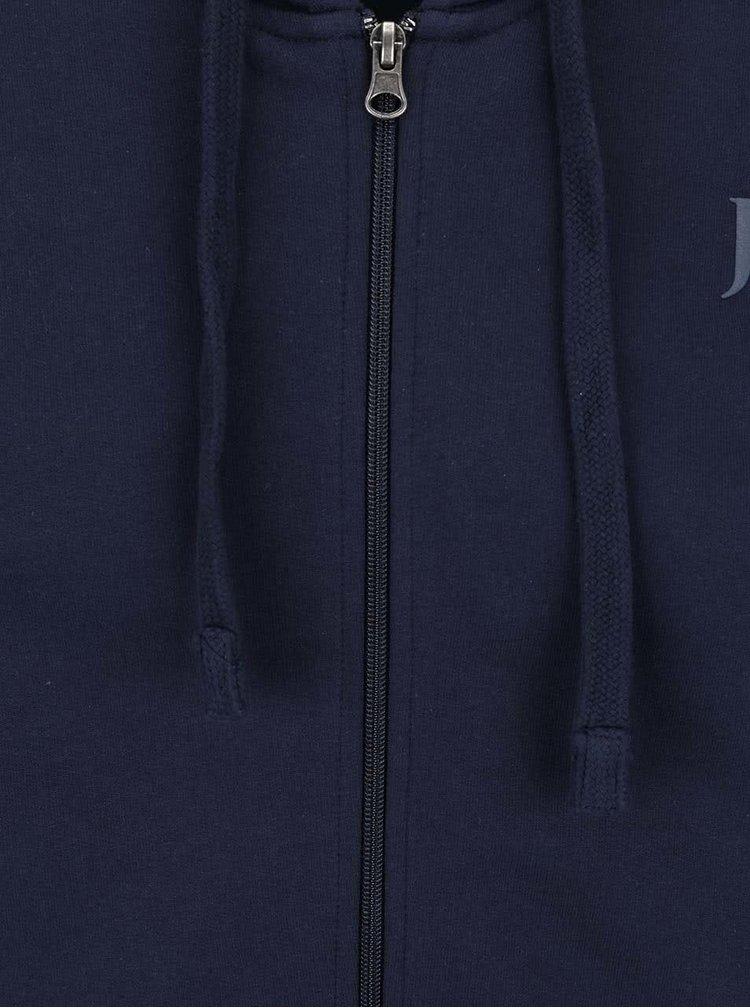Hanorac bleumarin JP 1880 cu glugă