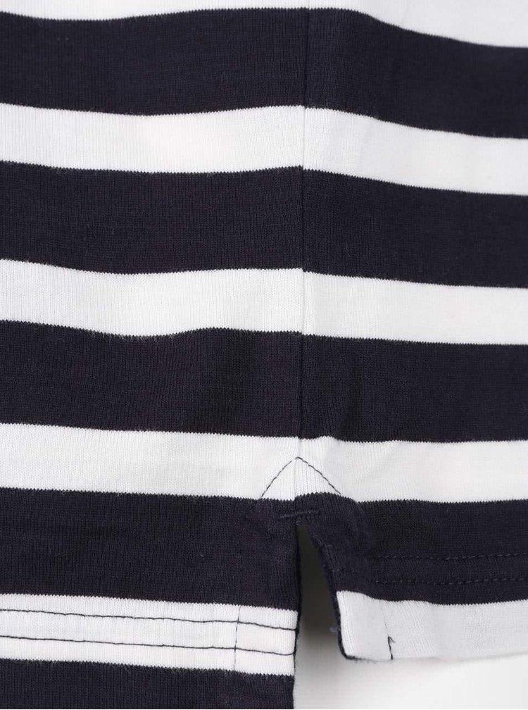 Bluză polo bleumarin JP 1880 cu model în dungi