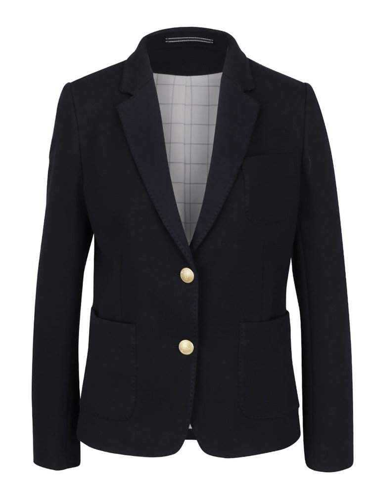 Tmavě modré dámské sako GANT Jersey