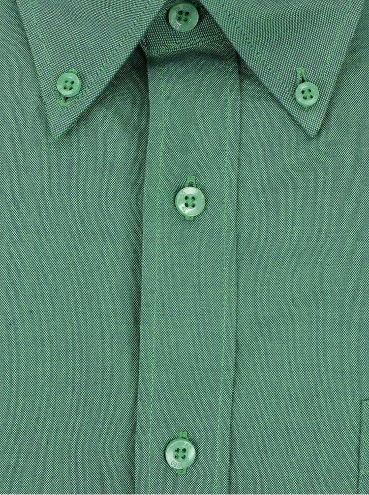 Zelená košile s krátkým rukávem JP 1880