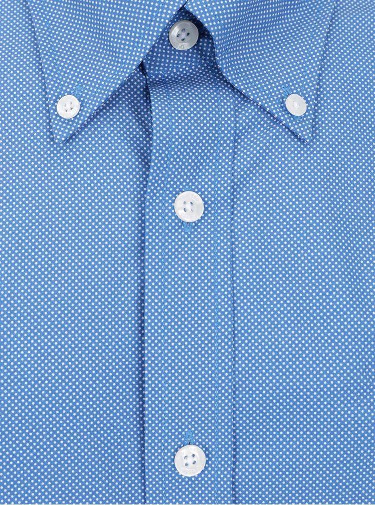Modrá puntíkovaná košile JP 1880