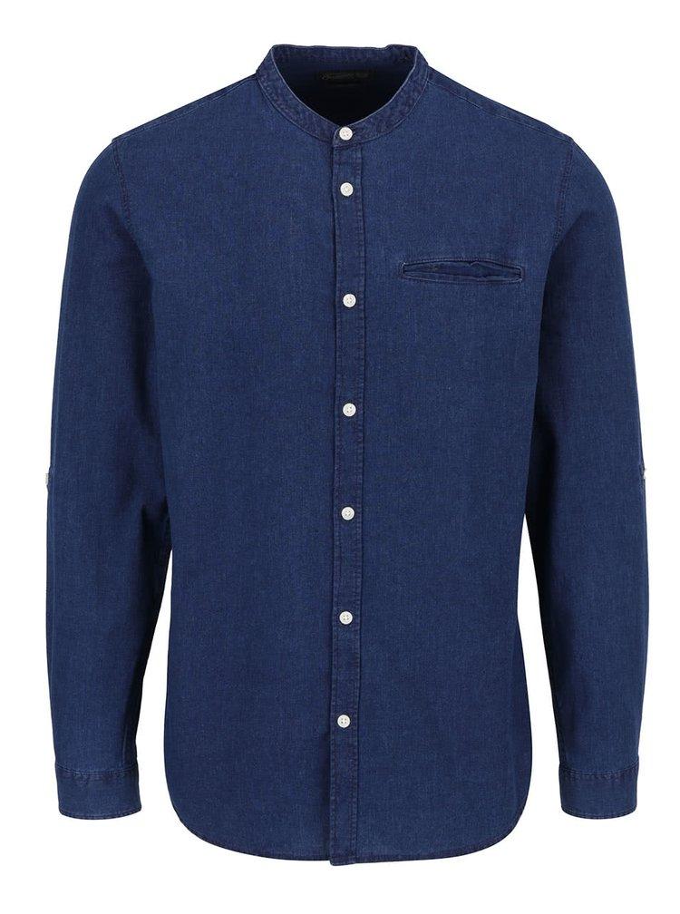 Tmavě modrá džínová košile Jack & Jones Benny