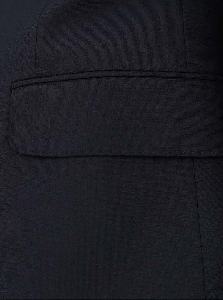 Tmavě modré vlněné sako JP 1880