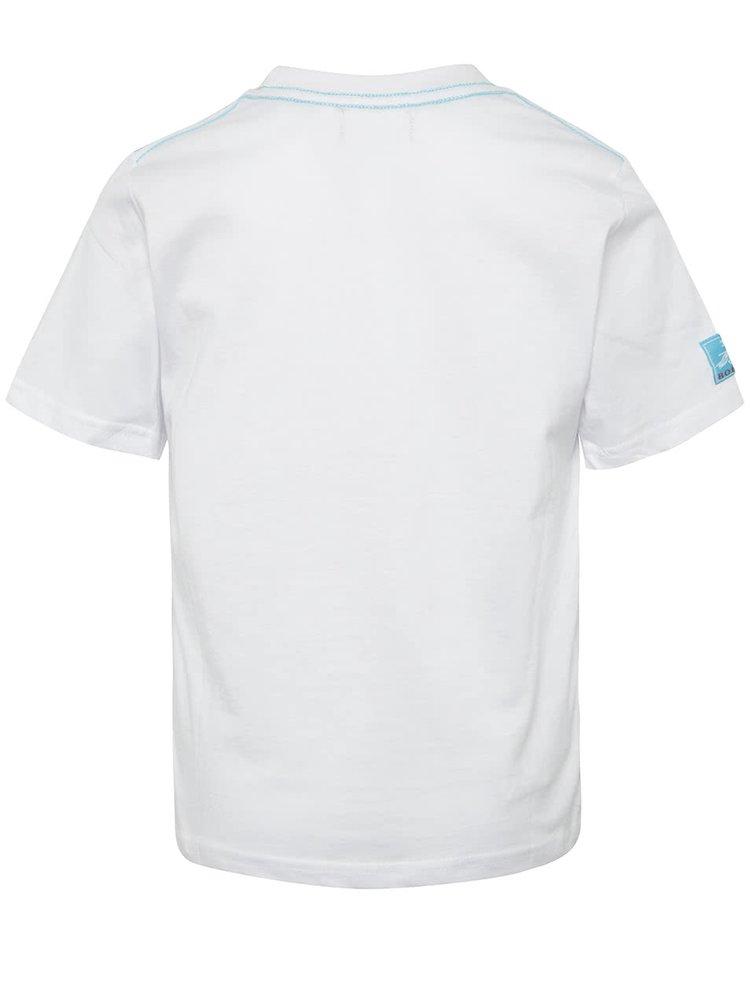 Tricou alb Bóboli din bumbac cu print