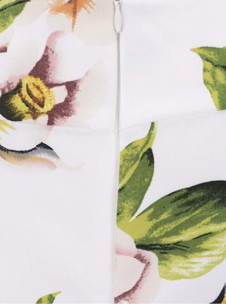 Rochie crem AX Paris cu imprimeu floral