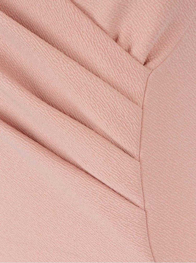 Rochie roz pal Ax Paris cu bretele subțiri