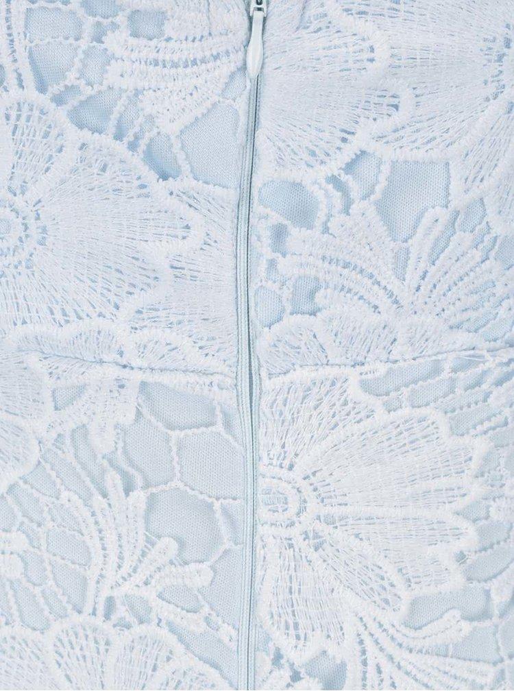 Rochie albastru deschis Ax Paris din dantela
