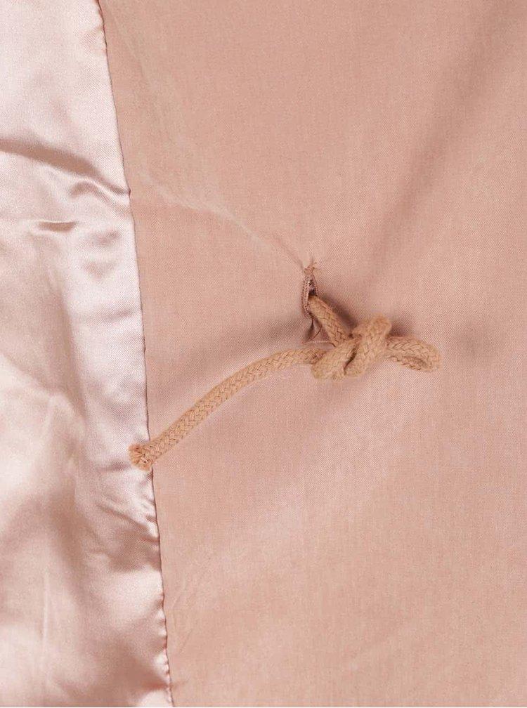 Jacheta subtire roz somon VERO MODA Kacy cu maneci 3/4