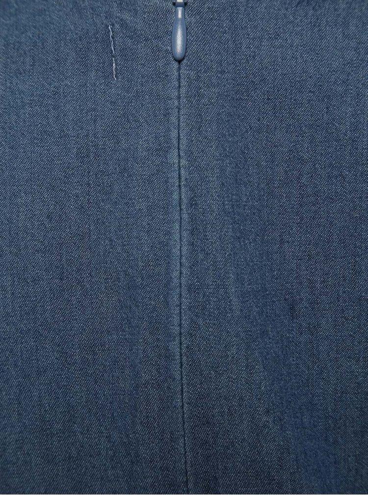 Modré holčičí džínové šaty Bóboli