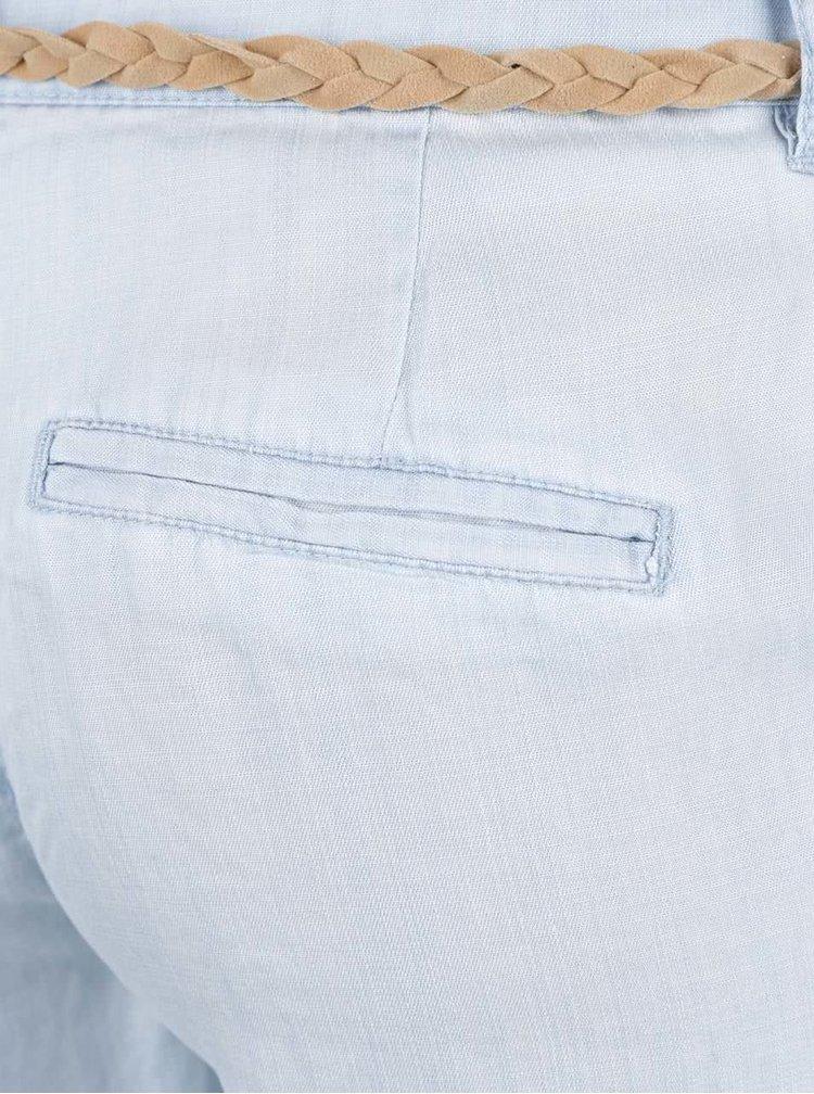 Pantaloni chino albastru deschis VERO MODA Zoe