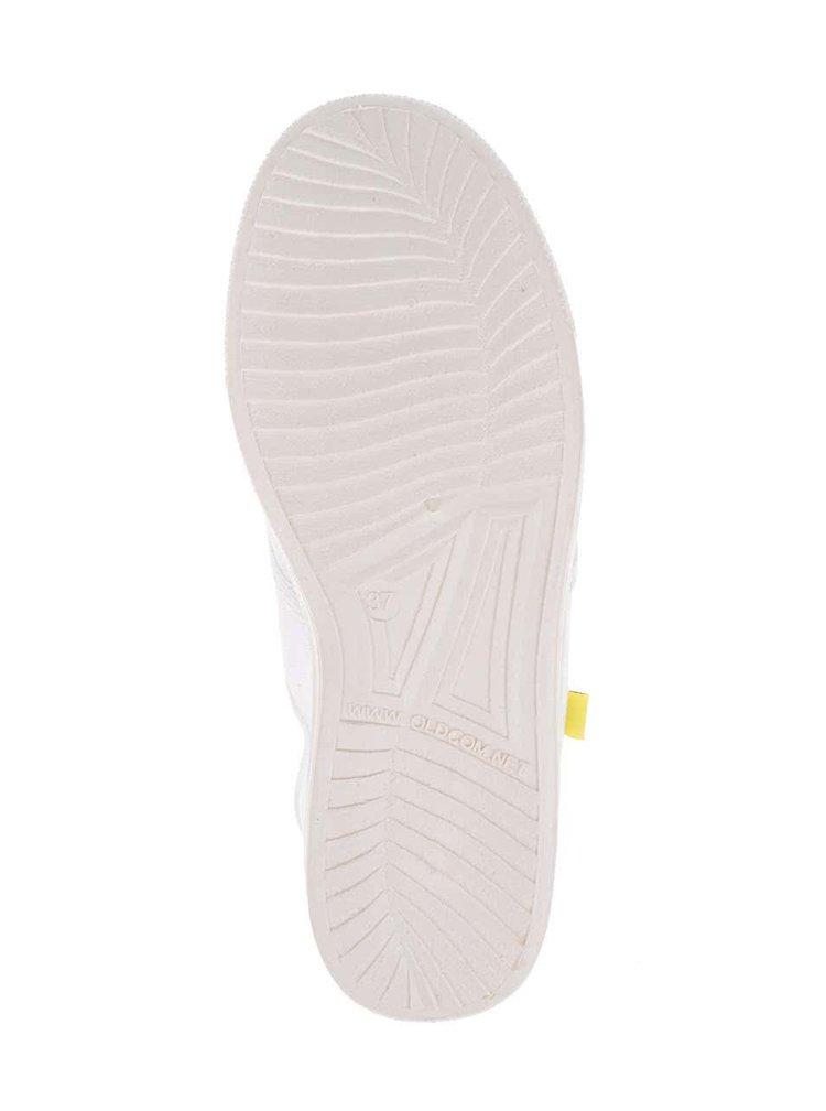 Bílé dámské plátěné tenisky Oldcom Oxford