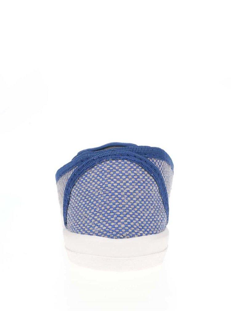 Modré unisex vzorované slip on Oldcom Cooper
